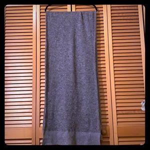 Tag & Bone Gray Wool Scarf
